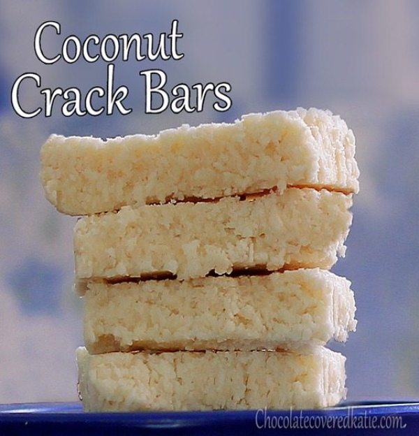 No Bake Coconut Crack Bars