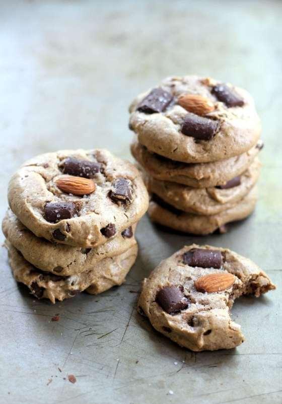Flourless Almond Chunk Cookies