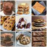Healthy Flourless Desserts (V, GF, Paleo, DF)- The best clean eating desserts made with ZERO flour, butter, oil or refined sugar yet so delicious! Loads of diet options and perfect for breakfast and snacks! Brownies, bars, cookies and more! {vegan, gluten free, paleo recipe}- thebigmansworld.com