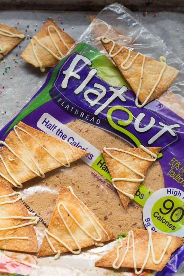 Healthy Unicorn Baked Pita Chips- thebigmansworld.com