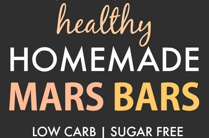Homemade Mars Bars (Paleo, Vegan, Sugar Free)- An easy, homemade healthy mars bar recipe which is low carb, dairy free and gluten free. A guilt-free dessert or snack! {v, gf, p}- thebigmansworld.com #marsbar #homemadecandy