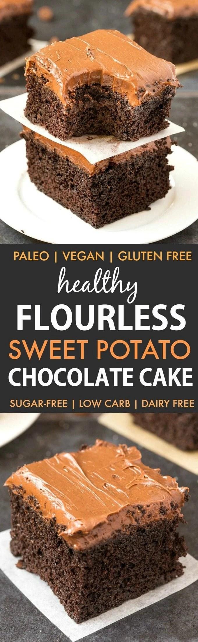 Diet Flourless Chocolate Cake
