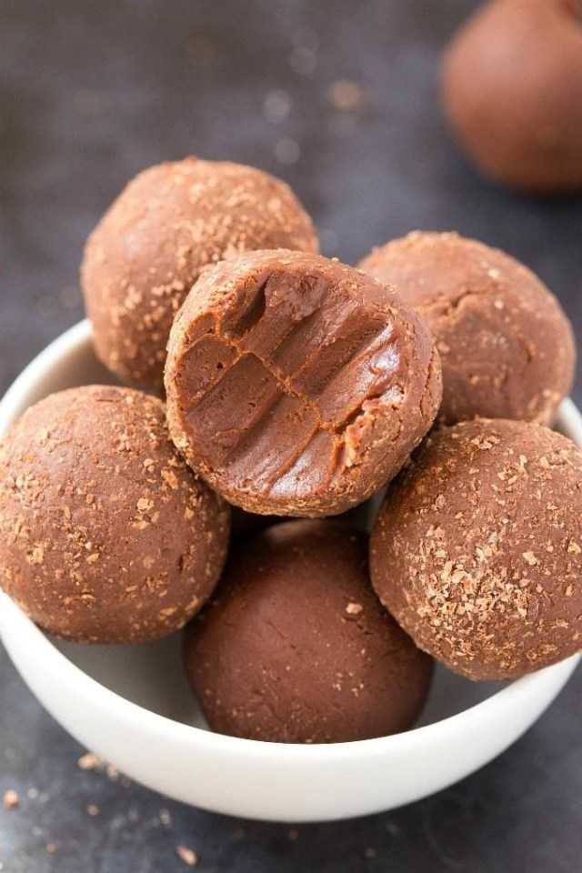 Easy 3 Ingredient Keto Brownie Bites Recipe- Soft, fudgy and ready in minutes!