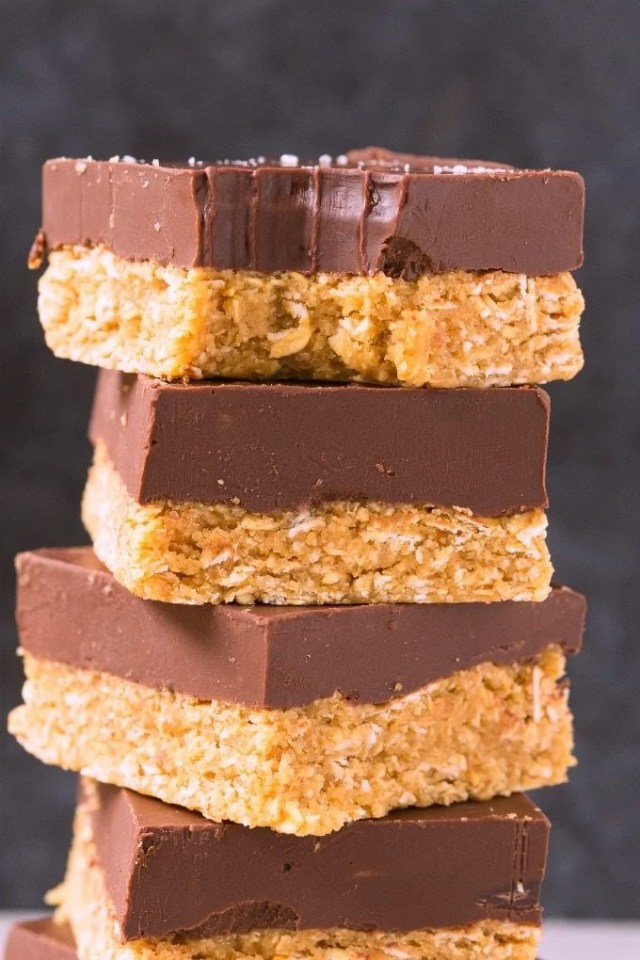 4-Ingredient No Bake Low Carb Protein Bars