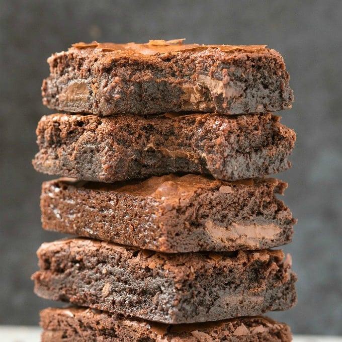 Flourless Keto Brownies (Paleo, Vegan, Nut Free)