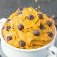 Healthy Paleo Vegan Pumpkin Cookie Dough