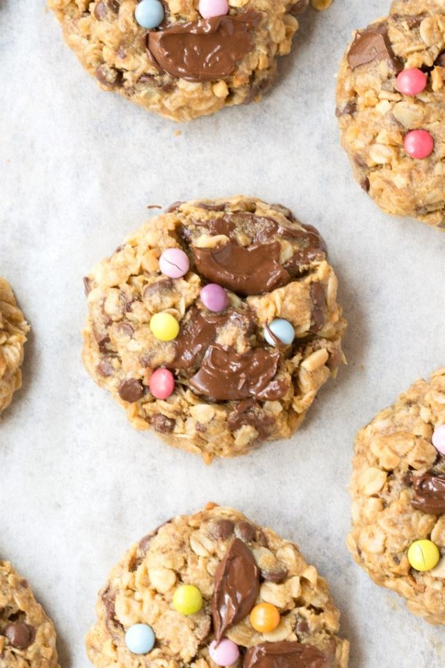 Healthy Monster cookies with no flour