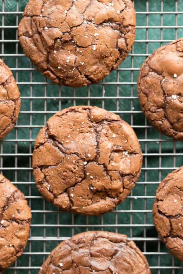 Healthy Flourless Fudgy Brownie Cookies Recipe