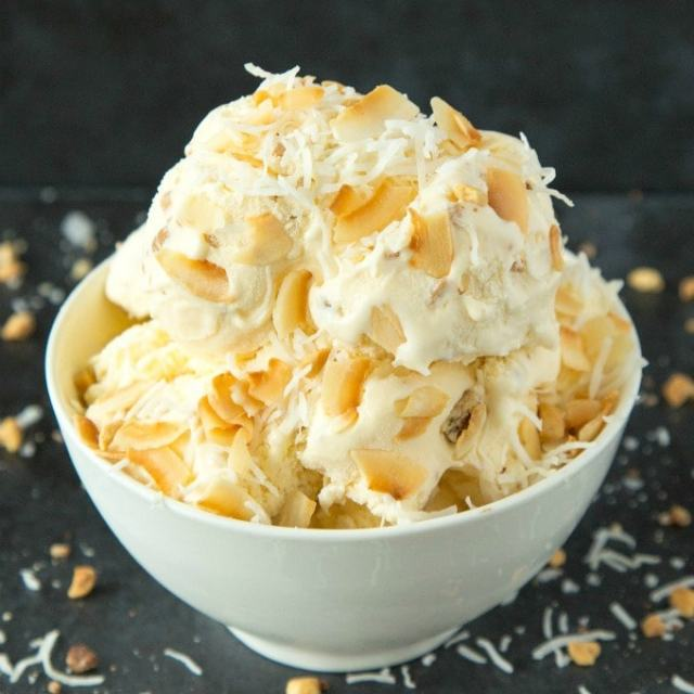 No Churn Keto Low Carb Coconut Milk Ice Cream recipe