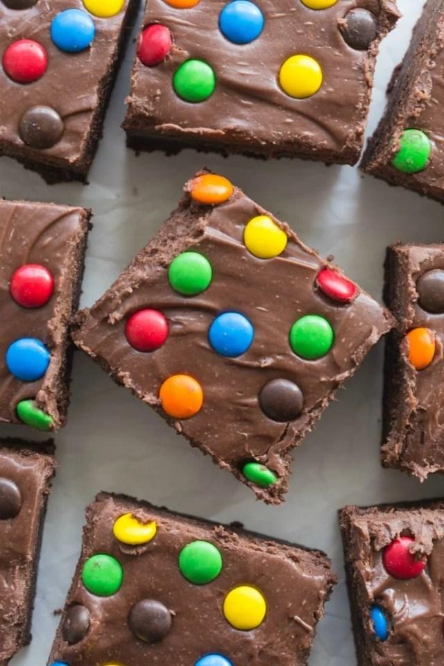 Paleo Vegan Homemade Cosmic Brownies (Keto, Low Carb)