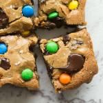 Healthy Keto Monster Cookie Bars Recipe