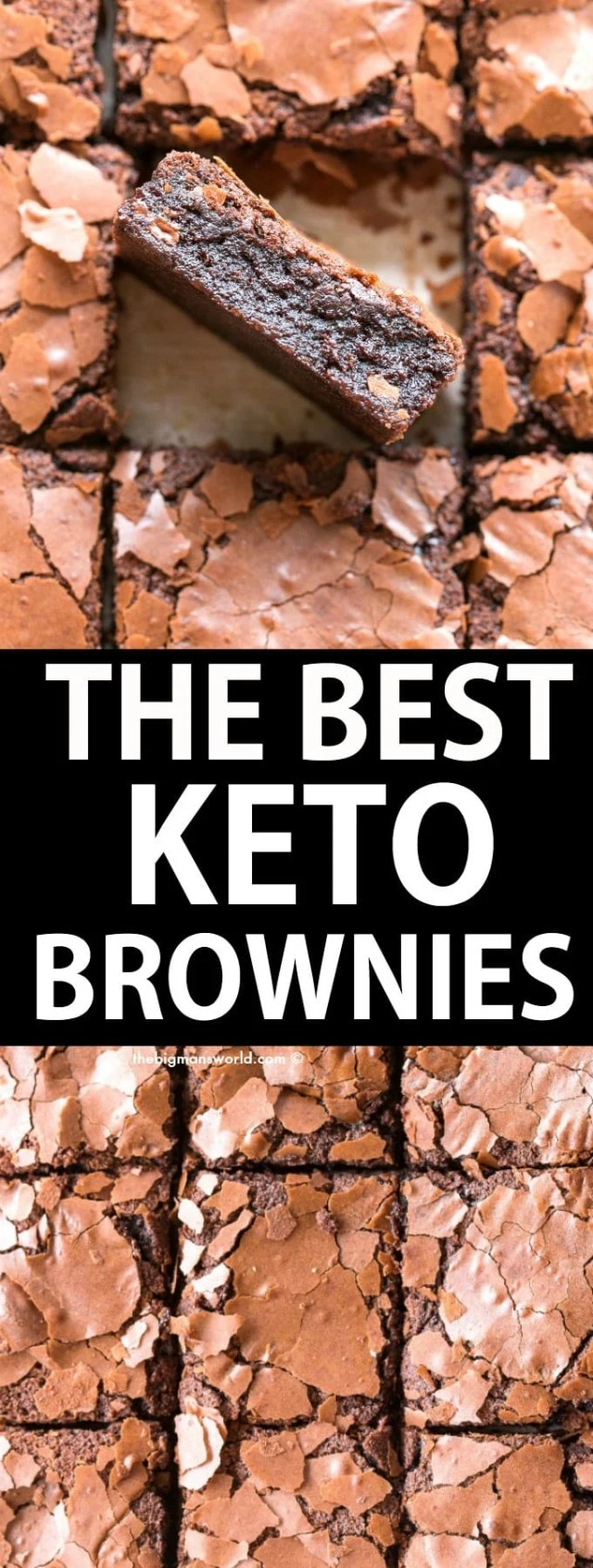 how to make the best keto fudgy brownies