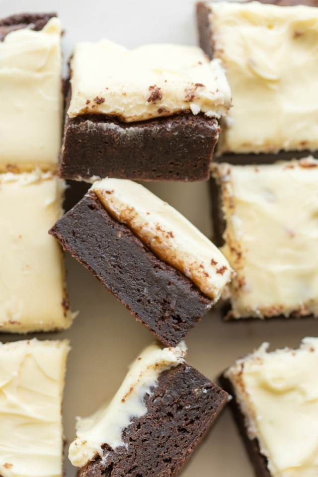 best keto brownies with cream cheese