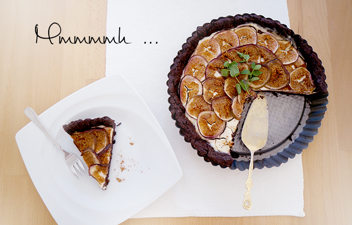 Chocolate Fig Tarte