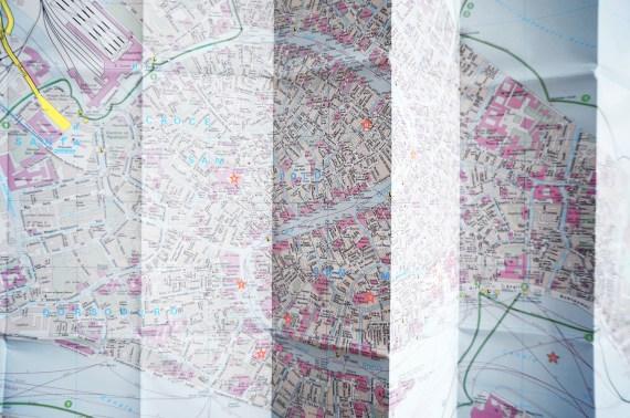 Venedig Venice Map Karte