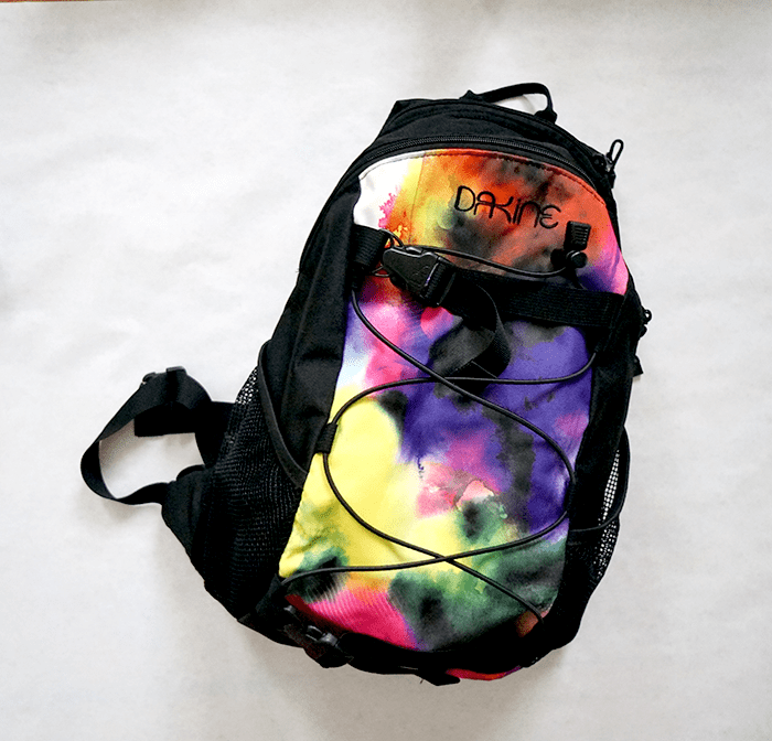 dakine backpack rucksack aquarell