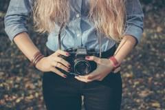 Kamera Mädchen