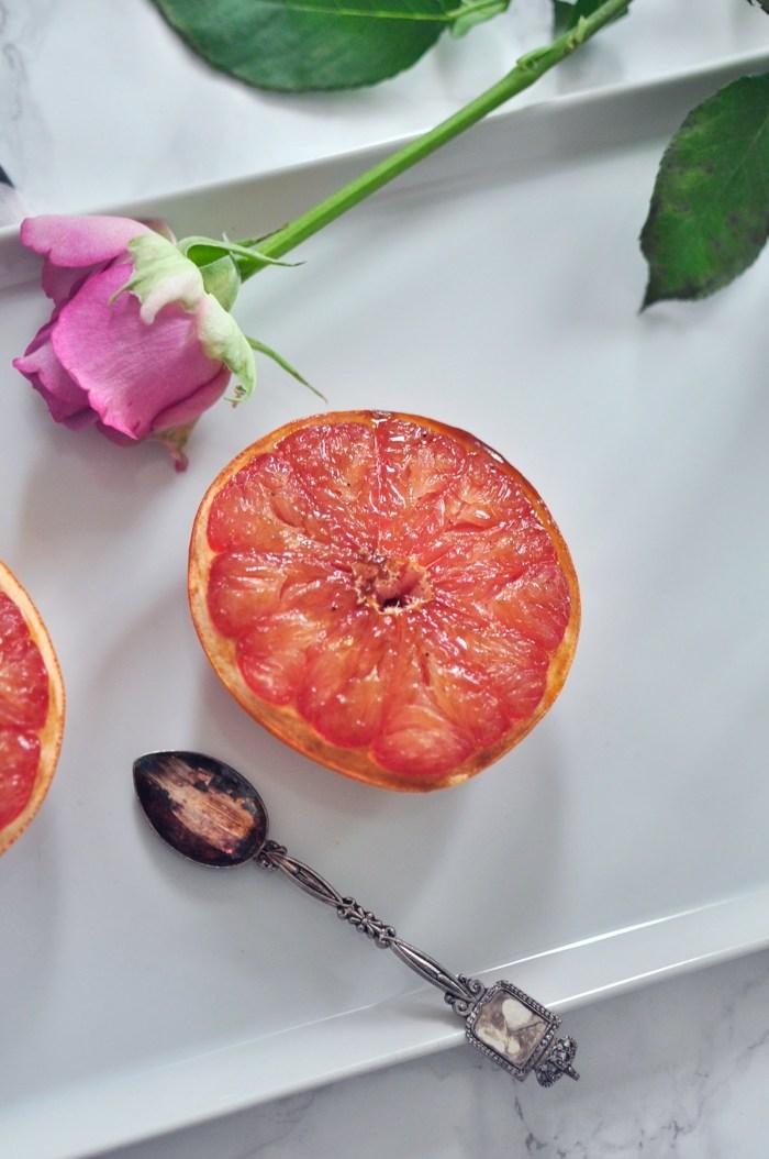 Oven baked grapefruit healthy delicious III
