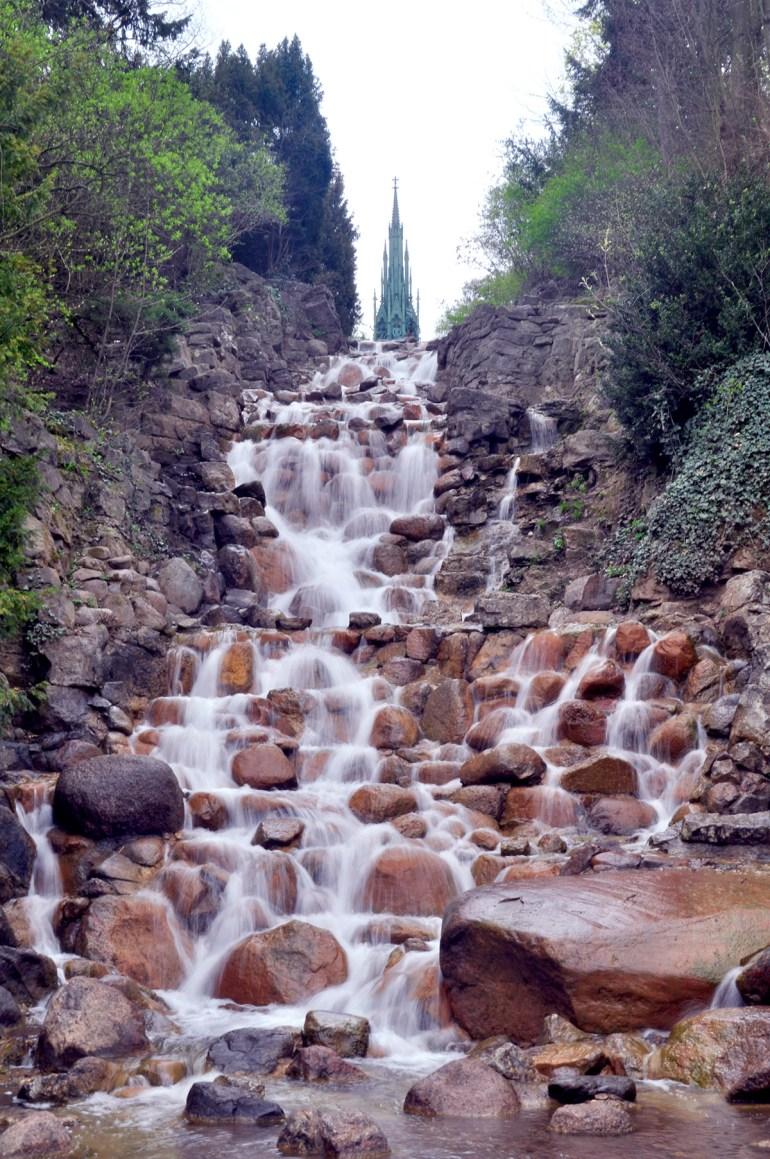 Wasserfall Viktoriapark Kreuzberg Berlin