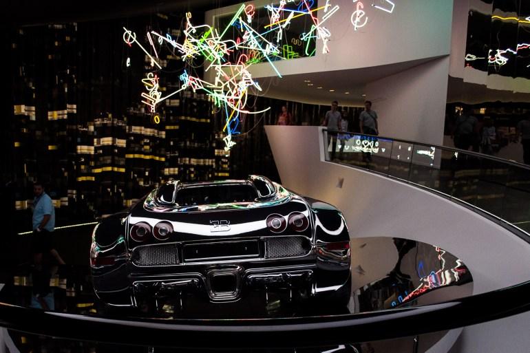 Autostadt Wolfsburg Bugatti Veyron