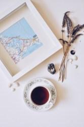 tea, map and memories