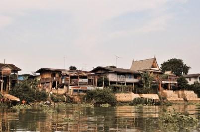 Ayutthaya Thailand Riverside Chao Phraya