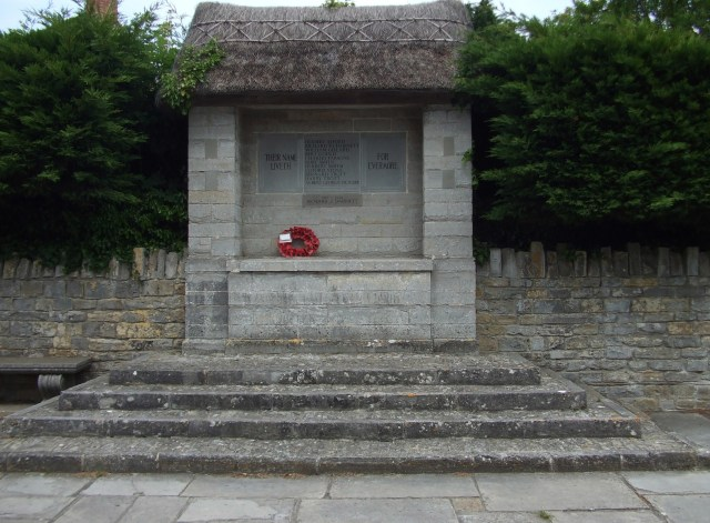 War Memorial Drayton Somerset