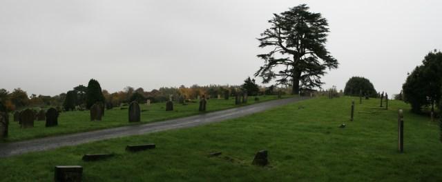 Dorking Cemetery Panorama 2
