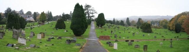 Dorking Cemetery Panorama 3