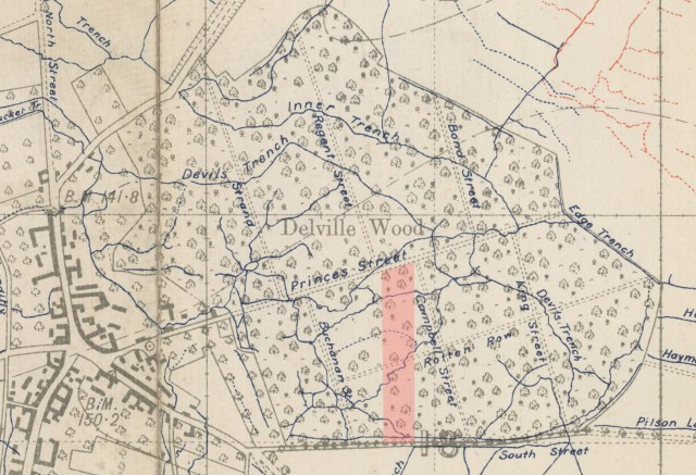 Delville Wood 15 August 1916