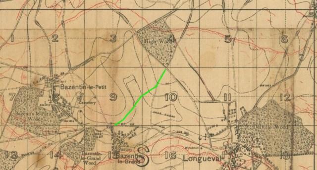 High Wood 21 July 1916