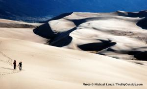 Backpackers, Great Sand Dunes National Park, CO.