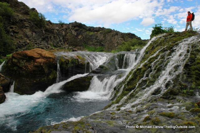 Waterfalls at Stong.