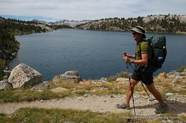 Todd Arndt, Lake Virginia, John Muir Wilderness.