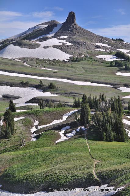Spearhead Peak, Teton Crest Trail.