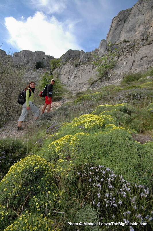 Hiking Sierra de Aitana.