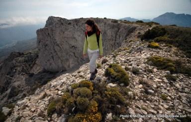 Hiking Sierra de Aitana.