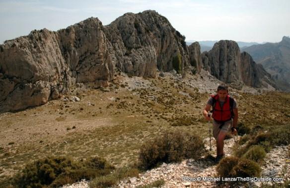 Sierra de Serrella, Aitana Mountains.