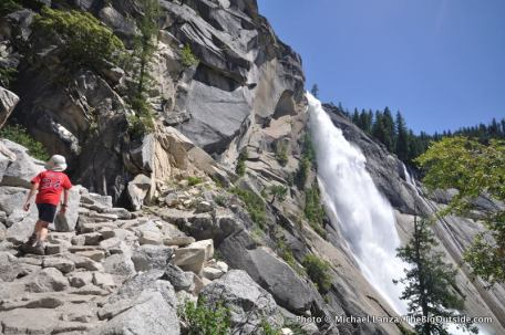 Nevada Fall, Mist Trail.