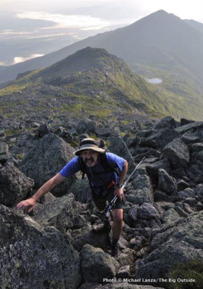 Hiking Mount Adams, Presidential Range, N.H.