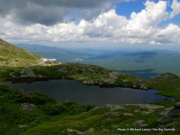 Lakes of the Clouds on Mount Washington.