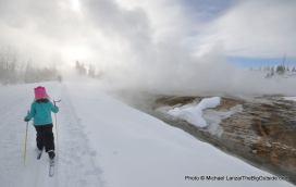 Biscuit Basin Trail, Upper Geyser Basin, Yellowstone