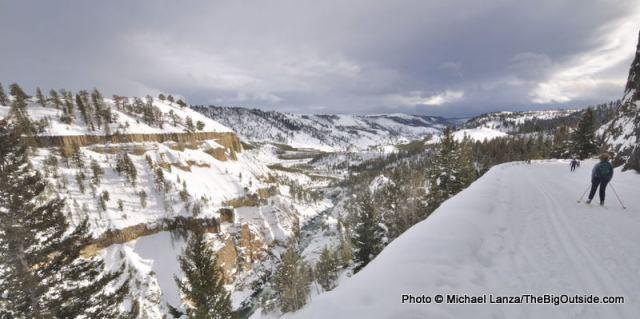 Tower Falls ski trail.