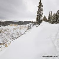 Canyon Rim ski trail, Yellowstone