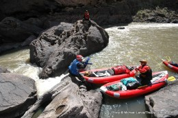 Thread the Needle, East Fork Owyhee River.