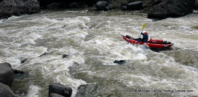 Cabin Rapid, Owyhee River.