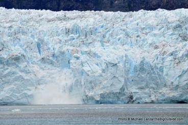 Margerie Glacier calving, Tarr Inlet