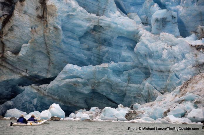 Lamplugh Glacier.