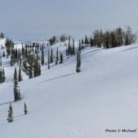 At the far end of Big Ridge.