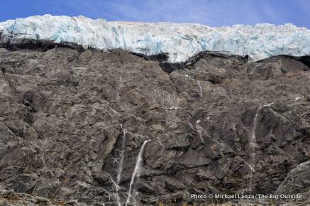 Marshall Glacier, Cascade Saddle route